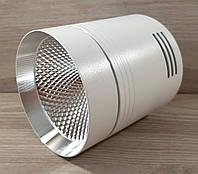 Светильник накладной Feron AL542 18W 4000K 1530Lm точечный светодиодный белый+серебро, фото 1