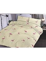Комплект постельного белья Бязь Фламинго - Двуспальный Евро (150673)