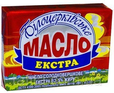 Масло 82,5% Белоцерковское