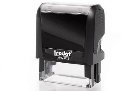 Оснастка Trodat Printy 4912 для штампа 47х18 мм б/у, фото 2