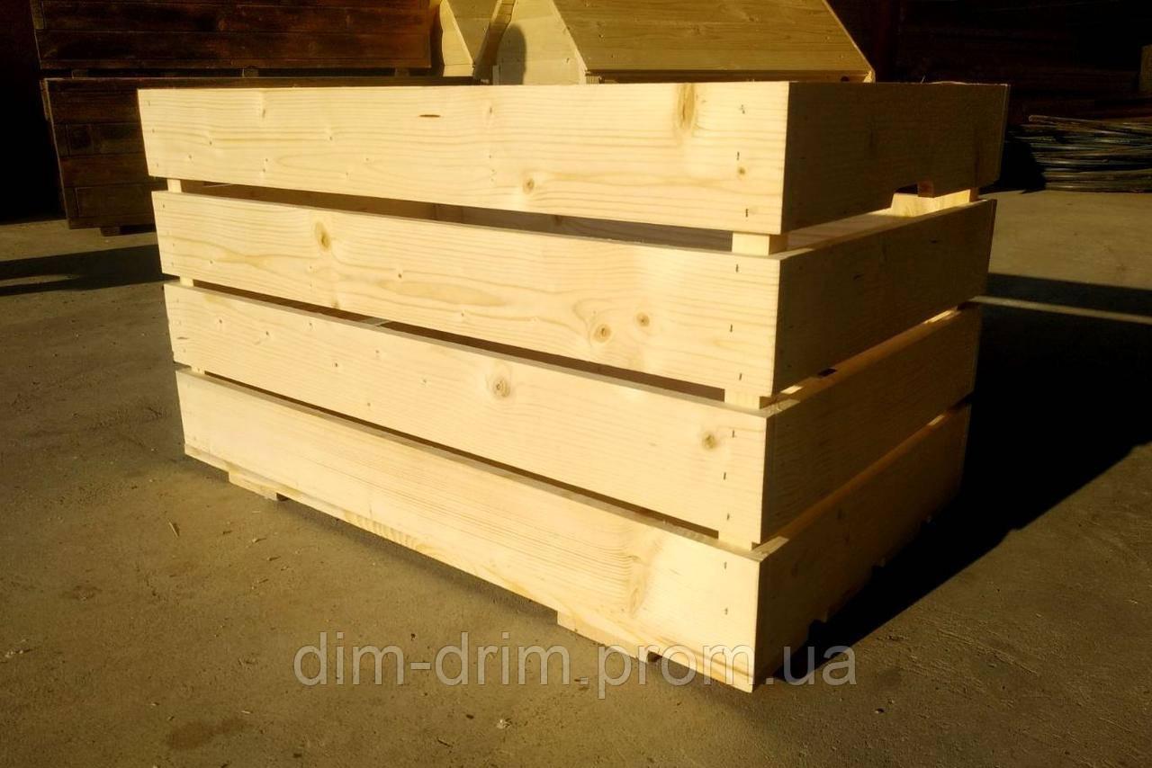 Ящик деревяний, декоративний