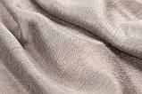 Шарф двухсторонний из шерсти/шелка платина Chadrin, фото 3