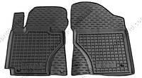 Полиуретановые коврики в салон Geely GC-6 2013->, 2шт. (Avto-Gumm, чёрный)