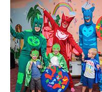 Детские праздничные маски, фото