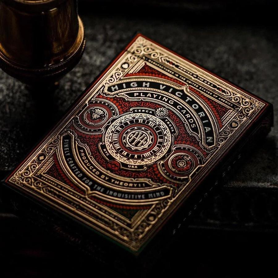 Карты игральные | High Victorian Red Edition Playing Cards