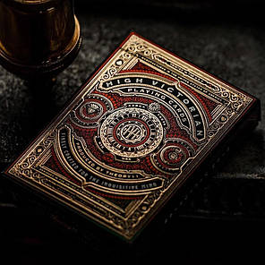 Карты игральные | High Victorian Red Edition Playing Cards, фото 2