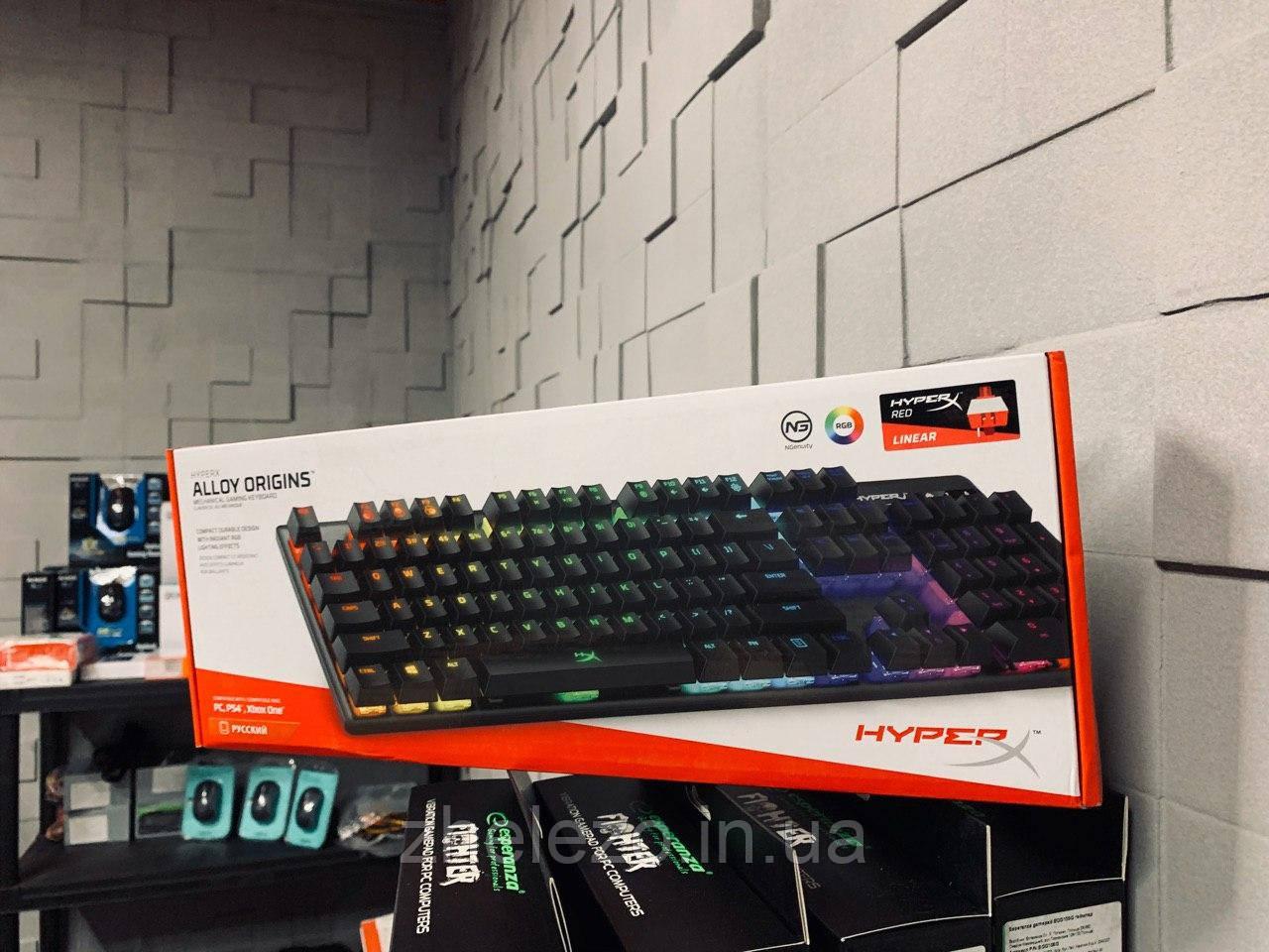 Клавиатура HyperX Alloy Origins (HX-KB6RDX-RU)