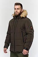 Зимняя мужская куртка Danstar KZ-169х (50) хаки