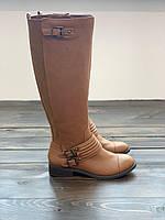 Коричневые сапоги-чулки Jessica Simpson, фото 1