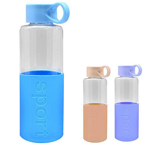 Бутылка-поилка спортивная 600мл, фото 2
