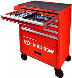 Готовые решения в тележках KING TONY