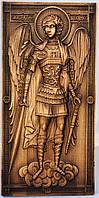 Икона Святого Архистратига Михаила  из дерева