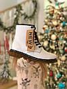 Женские ботинки Dr. Martеns с набивным мехом, фото 9