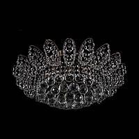 Хрустальная люстра классическая на 4 лампочки Прометей (античная бронза) P5-E0672/7/AB
