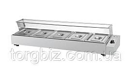 Мармит электрический GoodFood BM4G Мармит- витрина на 4 гастроемкости