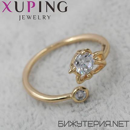 Кольцо Xuping медицинское золото 18K Gold - 1027629042, фото 2