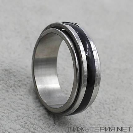 Мужское кольцо 2 Stainless Steel, фото 2