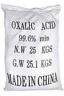 Щавелевая кислота Китай сухой 25 кг