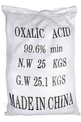 Щавелевая кислота Китай сухой 25 кг, фото 2