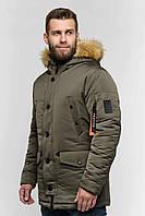 Мужская зимняя куртка Danstar KZ-108x (50) хаки