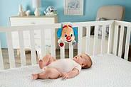 Музыкальная подвесная игрушка Fisher Price Умный щенок для кроватки на русском языке (FTF67), фото 7