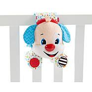 Музыкальная подвесная игрушка Fisher Price Умный щенок для кроватки на русском языке (FTF67), фото 4