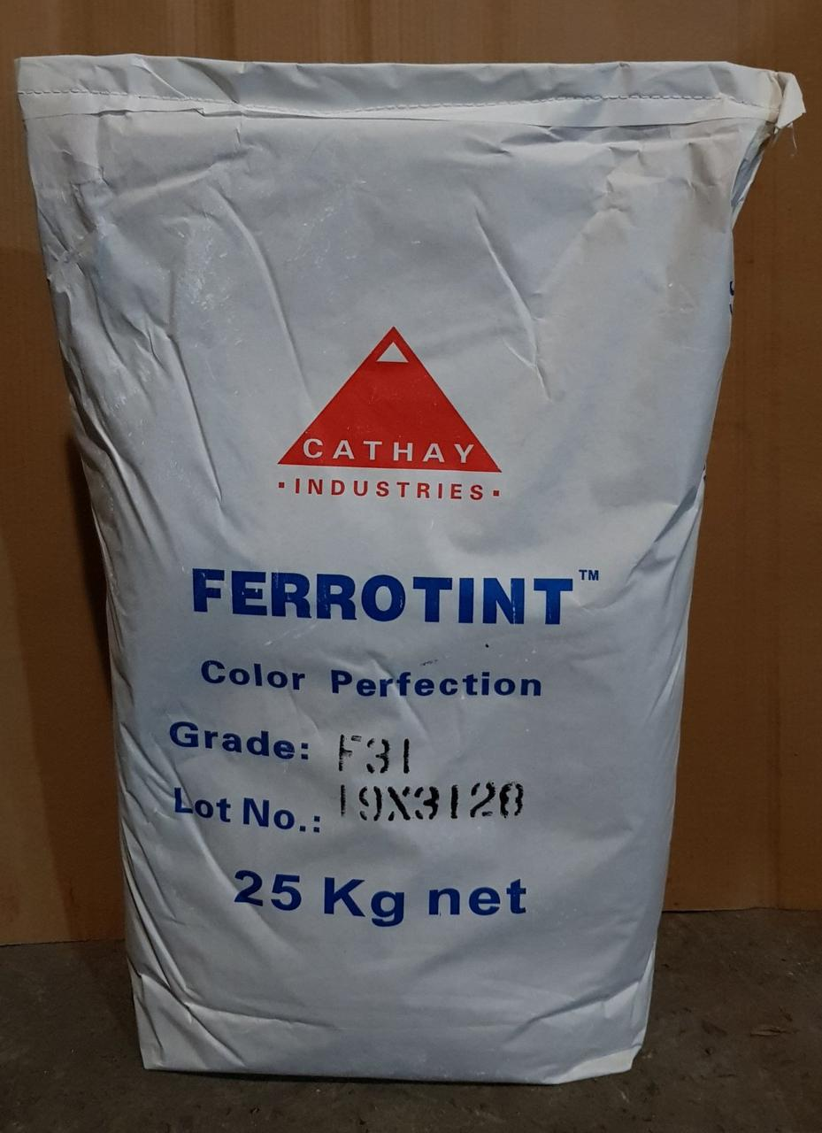 Белый пигмент FERROTINT F 31 (Диоксид титана) Cathay Pigments Group Китай сухой 25 кг