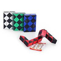 Игра 6688 B (600шт) логика, змейка, 4 цвета, в кульке, 6,5-4,5-1,5см