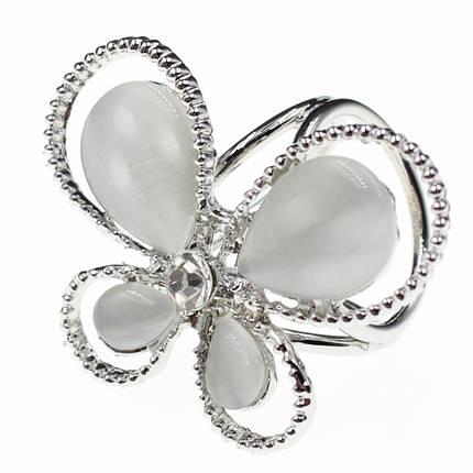 """Кольцо для платка """"Araceli silver"""", фото 2"""