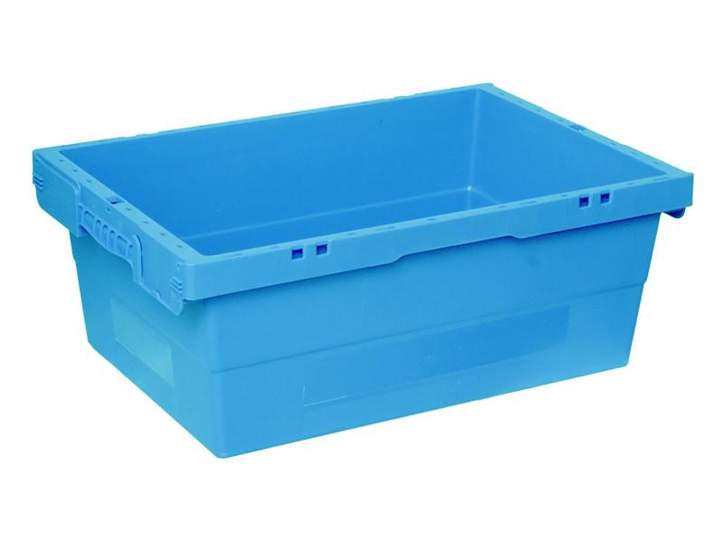 Пластиковый ящик конусный 600х400х225 мм