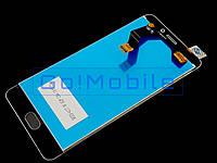 Дисплей + сенсор (модуль) Meizu M6 Note белый оригинал (Китай)