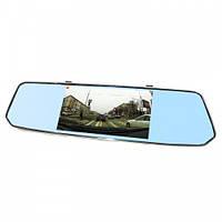 Автомобильный Видеорегистратор-Зеркало L1007 С Камерой Заднего Вида