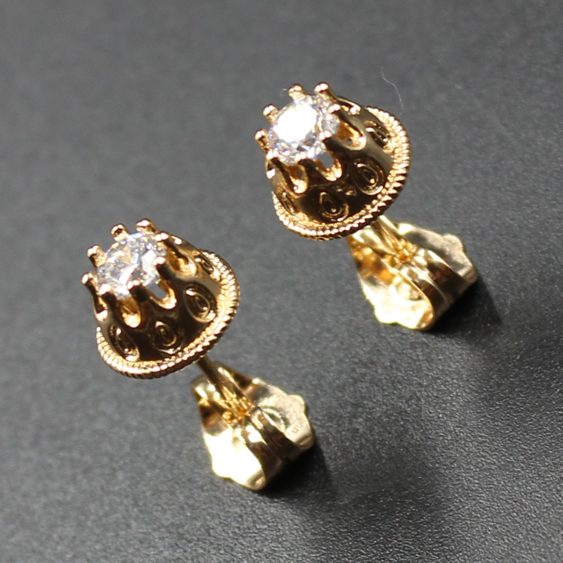"Серьги женские ""Beans"" Xuping Jewelry (позолота)."