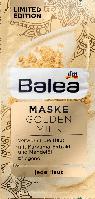 Питательная маска для лица Balea Maske Golden Milk, 2st. х 8 ml., фото 1