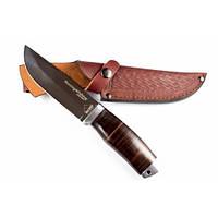 Нож охотничий Койот (наборная кожа)