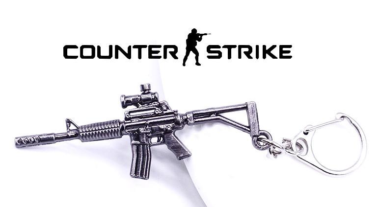 Брелок Автомат М4 Counter Strike CS:GO