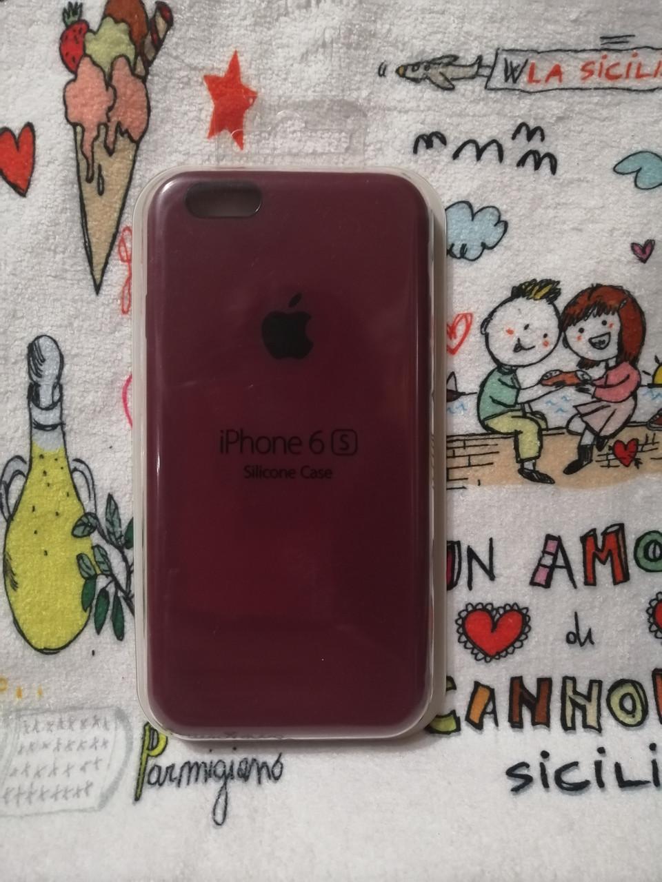 Силиконовый чехол для Айфон  6 / 6S  Silicon Case Iphone 6 / 6S в защищенном боксе - Color 20