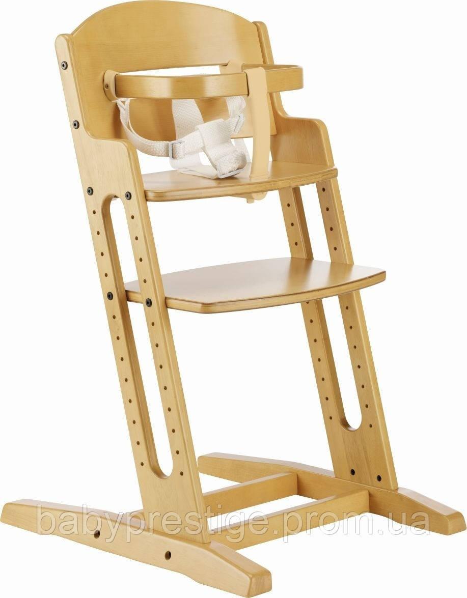 Стульчик для кормления Baby DanChair naturalne.