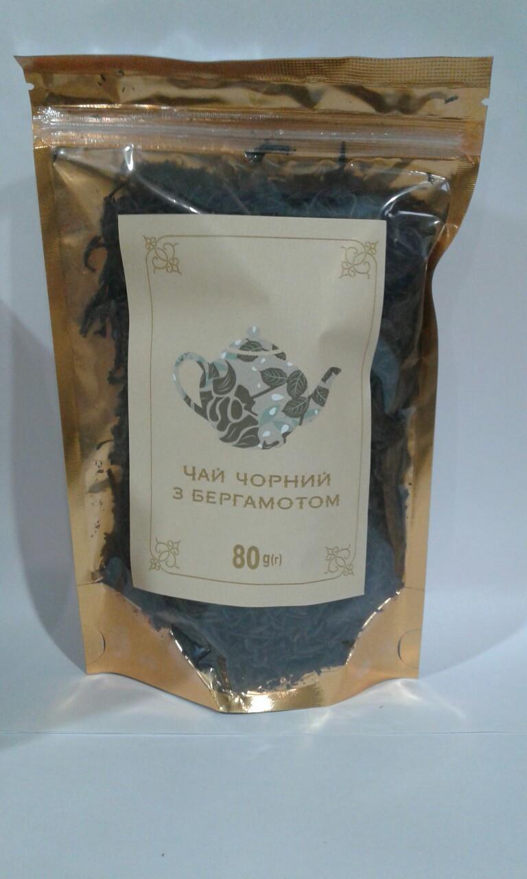 Чай черный с бергамотом 80 г