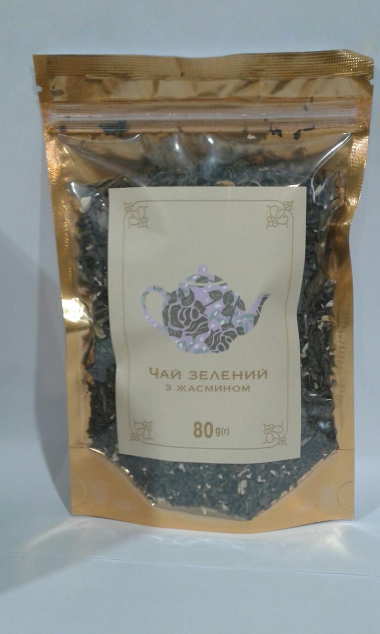Чай зеленый с жасмином 80 г