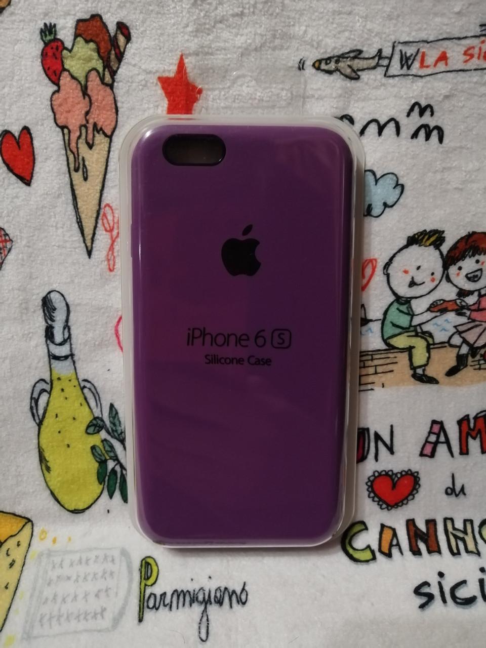 Силиконовый чехол для Айфон  6 / 6S  Silicon Case Iphone 6 / 6S в защищенном боксе - Color 21