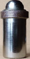КМ-2 металевий Футляр для шприців типу «Рекорд», круглий