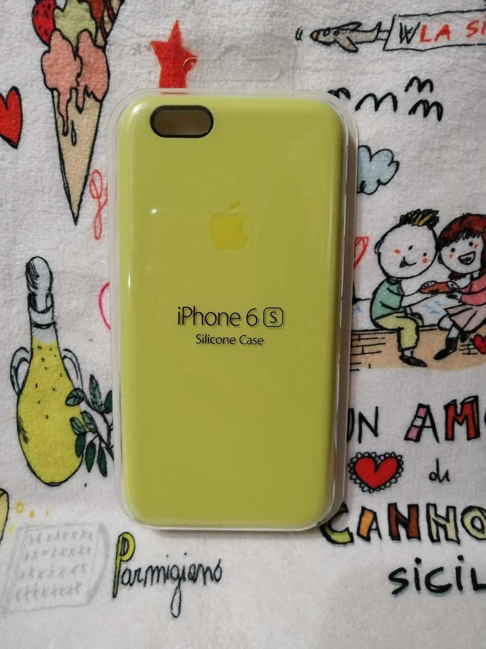 Силиконовый чехол для Айфон  6 / 6S  Silicon Case Iphone 6 / 6S в защищенном боксе - Color 23