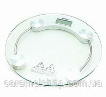 Весы напольные прозрачные MATARIX MX-451A max 180 кг