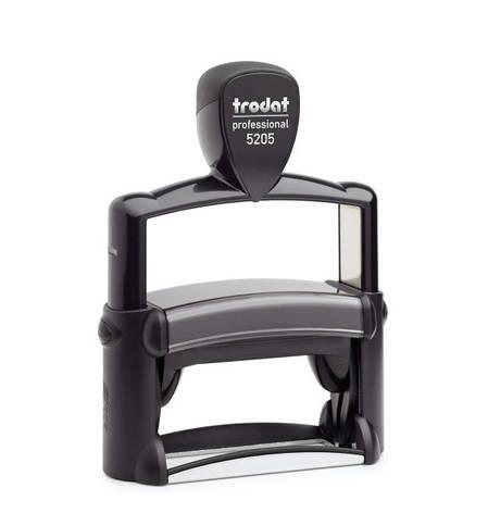 Trodat Professional 5205 автоматическая оснастка для штампа 70х25 мм б/у, фото 2