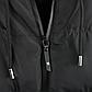 Мужская Куртка Короткая Зима-Осень L (48-50) (MO9333) Черная, фото 8