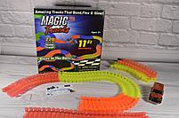 Гибкий трек - 220 деталей (Magic Track: светящаяся дорога с 1 машинка Меджик Трекс), фото 6
