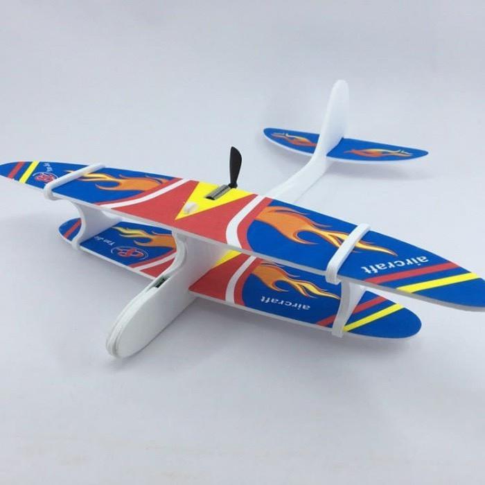 Метательный Планер-Самолет с моторчиком и USB зарядкой