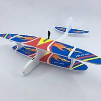 Метательный Планер-Самолет с моторчиком и USB зарядкой, фото 1
