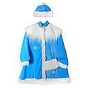 Маскарадный костюм Снегурочки (синий) на рост 100-130см, фото 2
